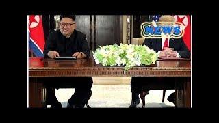 News Trump quip about North Korea