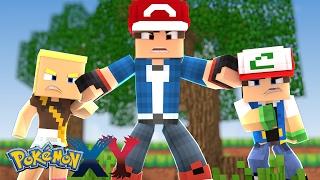 Minecraft: Pokemon X Y - O SEGREDO DO FILHO DO ASH #53