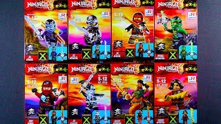 LEGO Ninjago Skybound Minifigures  (bootleg / knock-off) JR788