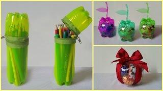10 DIY Creative Ways to Reuse - Recycle Plastic Bottles