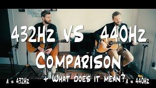 The Ultimate 432Hz VS 440Hz   CONSPIRACY + Comparison