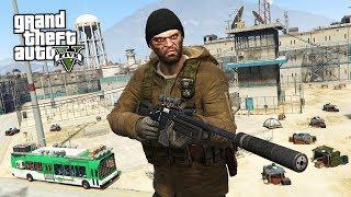 GTA 5 Zombie Apocalypse Mod #11 - THE PRISON!! (GTA 5 Mods)