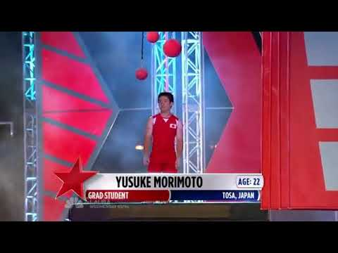 Yusuke Morimoto the very 1st Man to Conquer ANW Stage 3