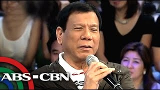 What Duterte thinks of homosexuality, same-sex marriage