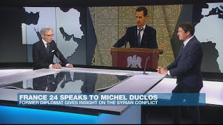 Former diplomat gives insight into Syrian conflict