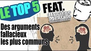 Le top 5 des arguments fallacieux les plus communs