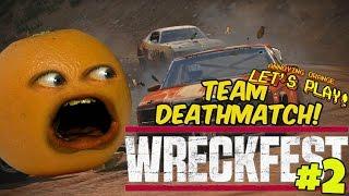 Annoying Orange Plays - Wreckfest #2: Team Deathmatch