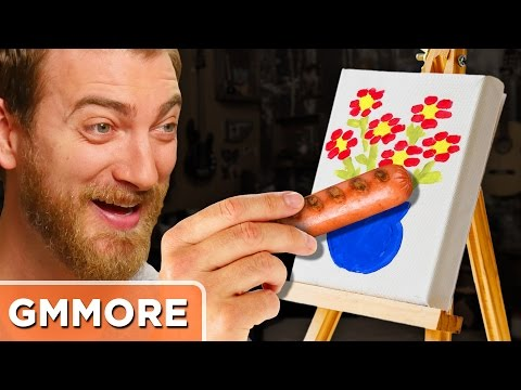 Xxx Mp4 Painting With Hot Dogs 3gp Sex