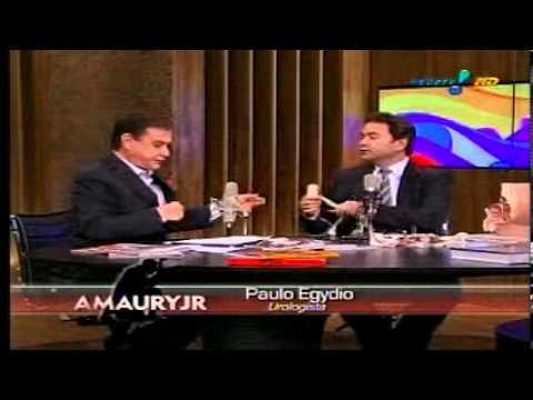 Dr. Paulo Egydio no Amaury Jr Dr. Paulo Egydio on the TV show Amaury Jr