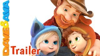 🎵One, Two, Buckle My Shoe – Trailer | Nursery Rhymes and Kids Songs from Dave and Ava 👞