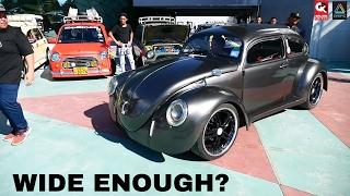 VW Beetle Stance Modified - Borneo Kustom Show 2017