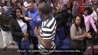 Uebert Angel - Visa Granted within *2 days* after a PROPHETIC Declaration, delivered *69Days* later!