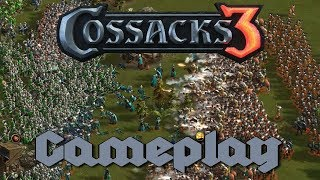 Cossacks 3 | 4v4 20pt | Tactical Maneuvering  (Unexpected Comeback!) |