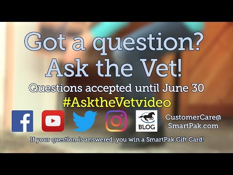 Xxx Mp4 Ask Your Horse Health Questions For The August 2017 AsktheVetVideo 3gp Sex