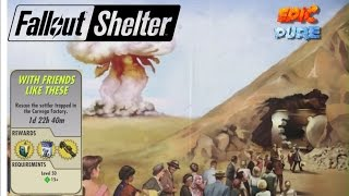 """[Fallout Shelter] Best Secret Mission Ever   """"With Friends Like These"""""""