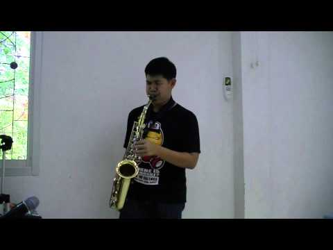 Fly me to the moon (sax cover)  yas 23