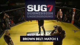 SUG 7 Brown Belt Tournament: Alex Larmey vs  Matt Kwan (Round 1)