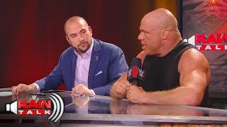 How did it feel for Kurt Angle to be part of The Shield? WWE Raw Talk, Oct. 22, 2017