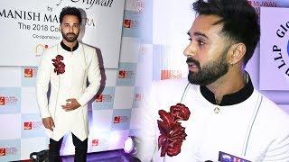 Pulkit Samrat At Mijwan Fashion Show 2018 Show By Manish Malhotra