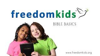 Bible Basics (Promo short) |  Freedom Kids