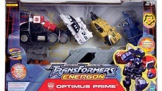 Optimus Prime - Transformers Energon (Leader Class)