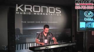 Kraft Music - Korg Kronos Demo With Rich Formidoni At NAMM 2011 HIGH QUALITY!