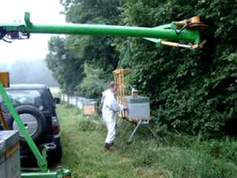 Transhumance Criquet palettes de 3 ruches