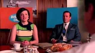 Peggy's Burger Chef Presentation - Mad Men (HD 1080p)