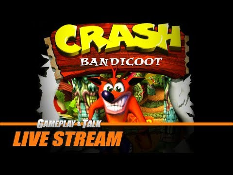 Xxx Mp4 Gameplay And Talk Live Stream Crash Bandicoot For The Sony PlayStation PS1 Japanese Version 3gp Sex