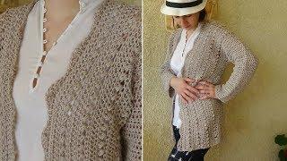 Sahara Crochet Cardigan ! Elegant easy crochet pattern!