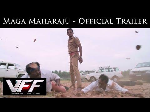 Maga Maharaju - Official Trailer | Vishal | Sundar C| Hansika | Hiphop Tamizha