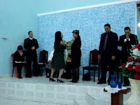 congresso de novos convertidos Juquiá s.p coreografia
