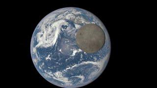 Moon's Farside Crosses Earth's Face | DSCOVR Satellite Time-Lapse Video
