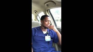 """Worst night as an Er nurse, running my first """"Code Blue"""" as a new grad ( raw reaction video )"""