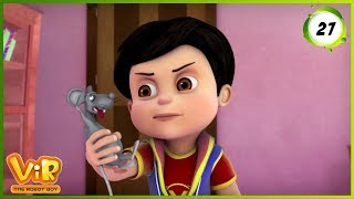 Vir: The Robot Boy   The Lady Jinn Part - 2   Action Show for Kids   3D cartoons