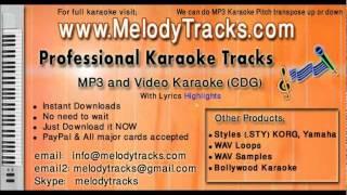 Mere samne wali khidki mein KarAoke - www.MelodyTracks.com