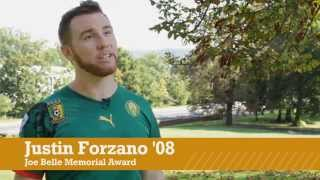 Justin Forzano '08, 2014 Joe Belle Memorial Award