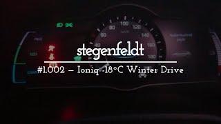 #1.002 - Ioniq Electric in -18C Winter Drive (consumption in cold weather)
