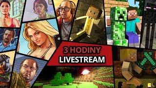 Jirka a GEJMR hraje GTA a Minecraft [ 3 hod LIVESTREAM ]
