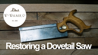 How to Restore a Dovetail Saw