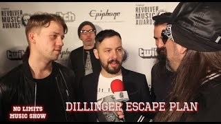 DILLINGER ESCAPE PLAN: Surprising Retirement & Medical Secrets to Deal with Onstage Accidents!