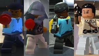 Lando Evolution in Lego Star Wars videogames!!!