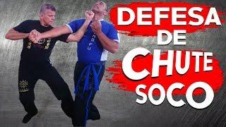 TÉCNICAS DE DEFESA CONTRA CHUTE E MÚLTIPLO SOCOS Aula de Kung Fu e Defesa Pessoal #ArtesMarciais