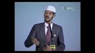 Scientific Proof for Atheist on Existence of God...Answer By: Zakir Naik