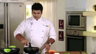 Chicken in Hot Garlic Sauce   Sanjeev Kapoor Khazana