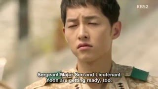 Descendants of the sun - Funny scene - episode 9 | Song Yoong Ki
