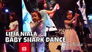 Lifia Niala Keira Charma Joget Baby Shark Youtube FanFest 2017 - Squishy food vs Real food