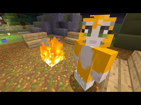 Minecraft Xbox - Building Time - Camping {24}