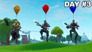 Last To Touch Ground Wins 10,000 VBUCKS - Fortnite Challenge
