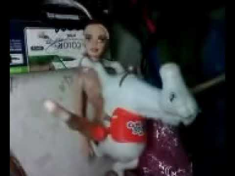 Barbie with horse.3gp